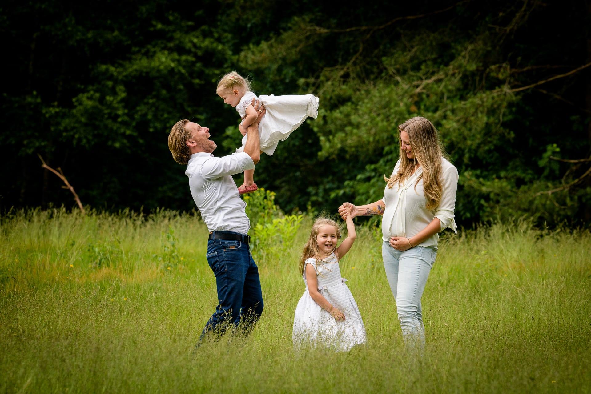 Familie fotograaf Familyshoot loveshoot