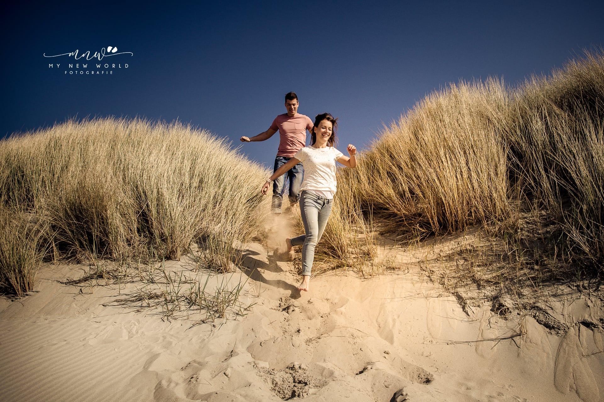 Loveshoot aan het strand