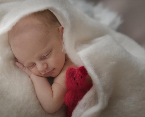 kerstkindje knuffelbeertje breien beertje