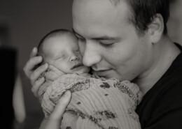 vader en baby raamshoot Apeldoorn